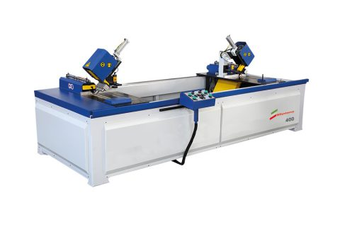 400 Automatic Double Head Cutting And Drilling Machine