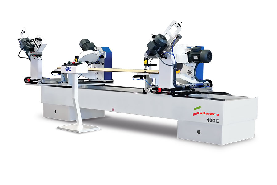 400 E Automatic Double Miter Saw and Drilling Machine